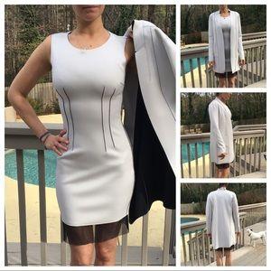 Elie Tahari Reversible Scuba Dress & Jacket NWOT